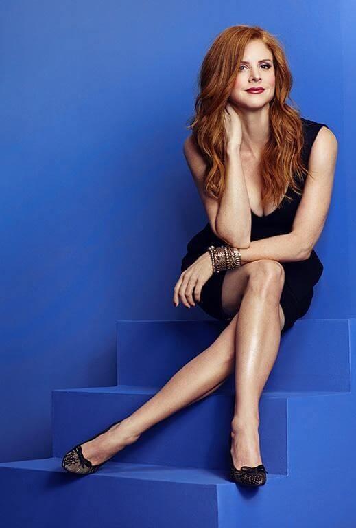 Sarah Rafferty sexy feet pics