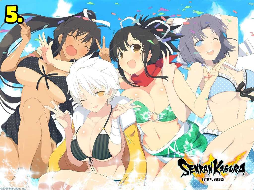 Senran Kagura Ninja Flash!
