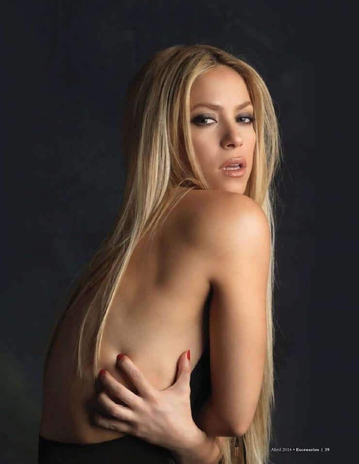 Shakira sexy back pics