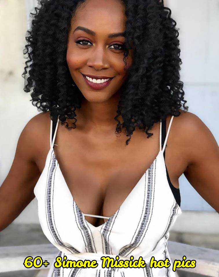 Simone Missick sexy cleavage pic