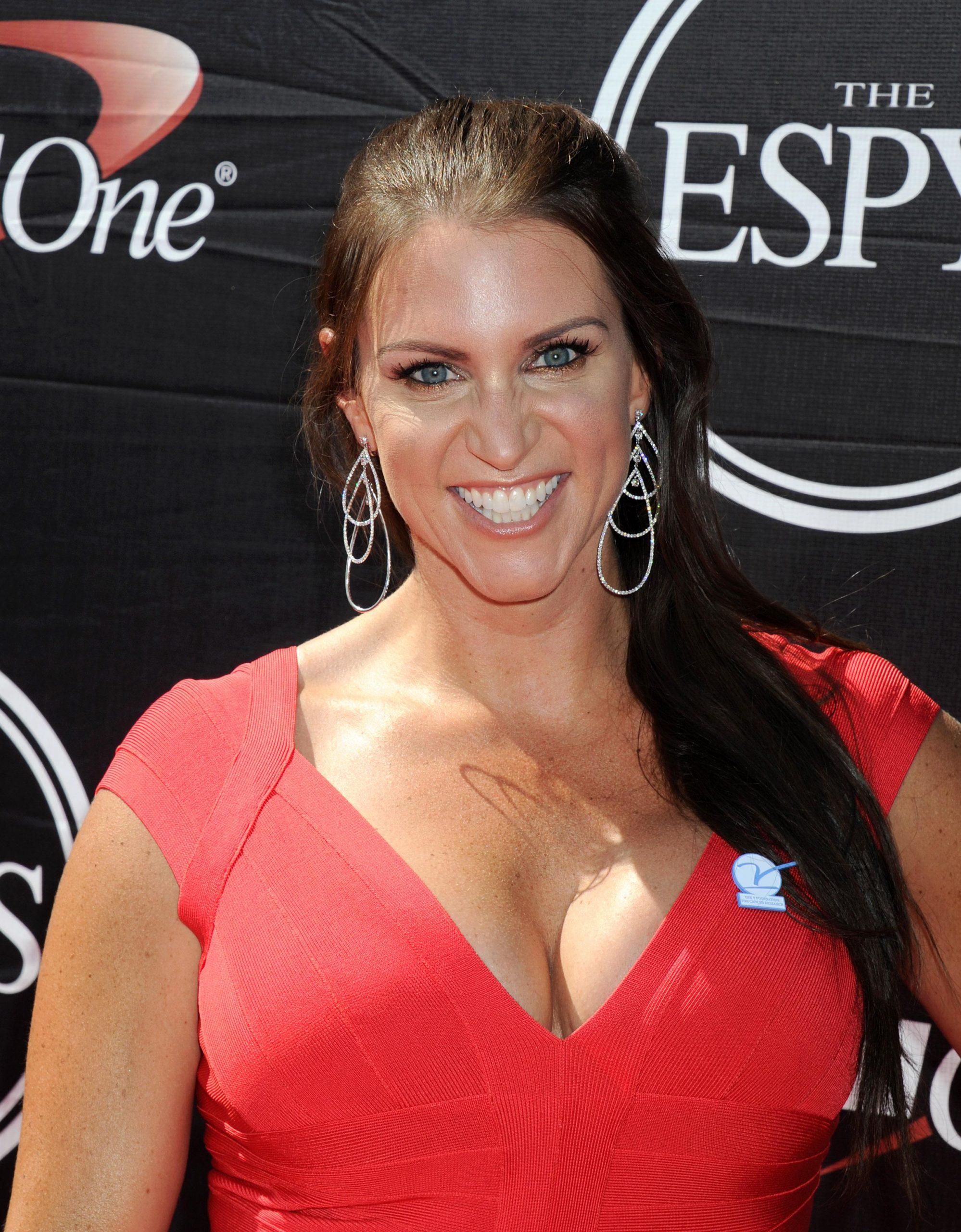 Stephanie McMahon hot look