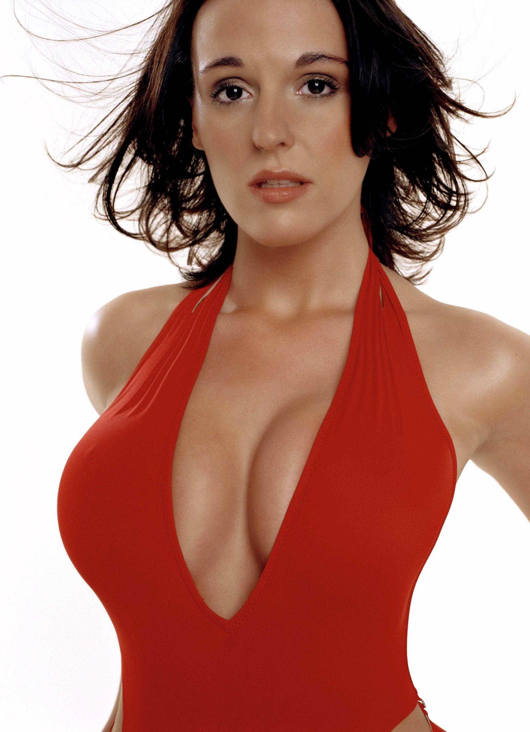 Suranne Jones cleavage photo