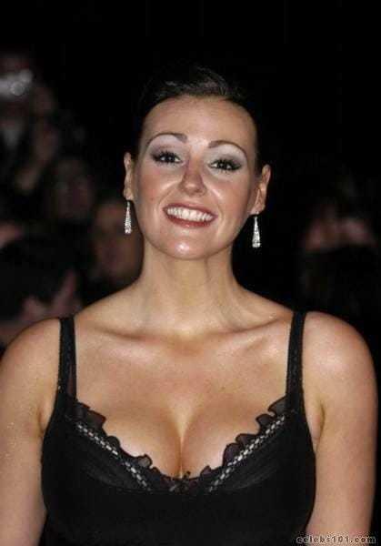Suranne Jones sexy cleavage pic