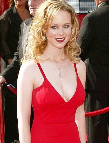 Thora Birch sexy cleavage pics