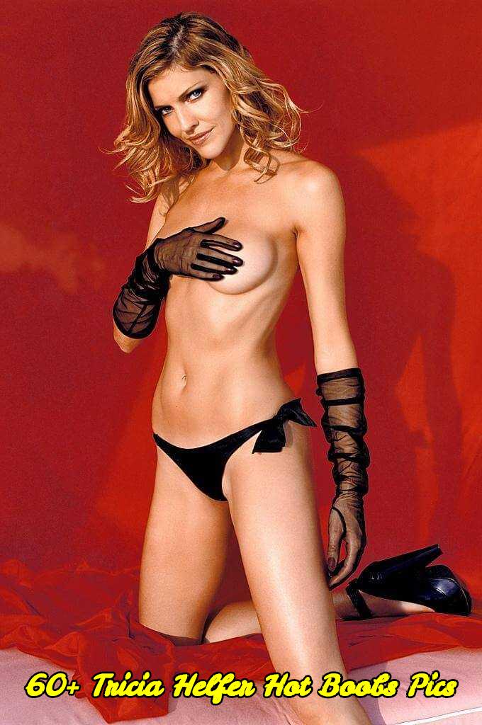 Tricia Helfer hot boobs pics