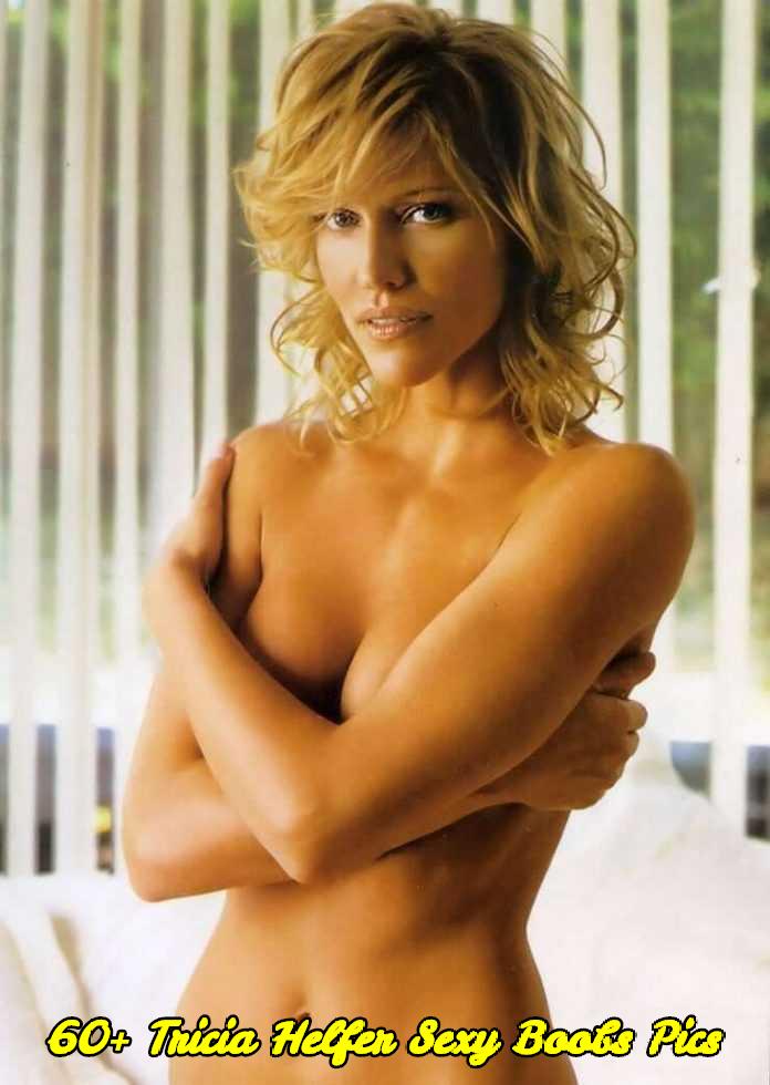 Tricia Helfer sexy boobs pics