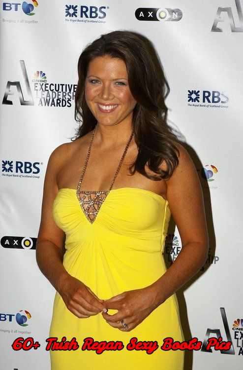 Trish Regan sexy boobs pics
