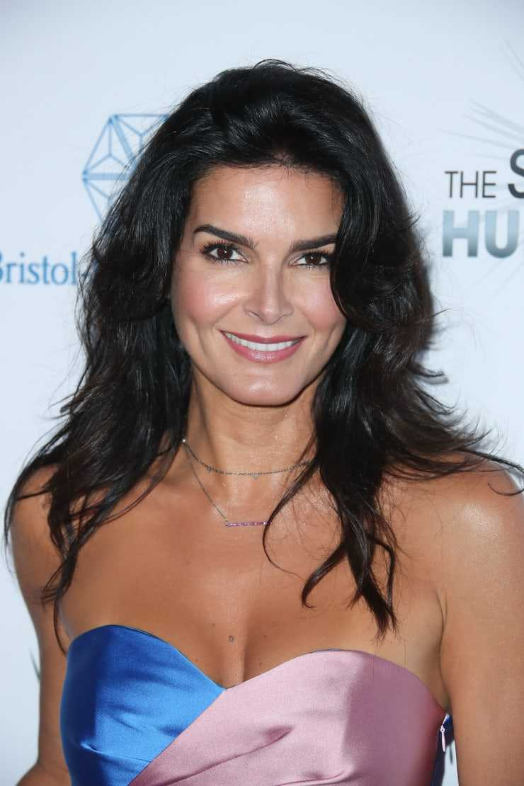 angie harmon hot cleavage pic