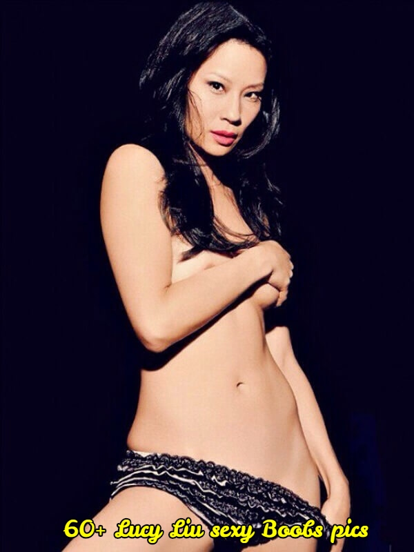 lucy liu topless pic