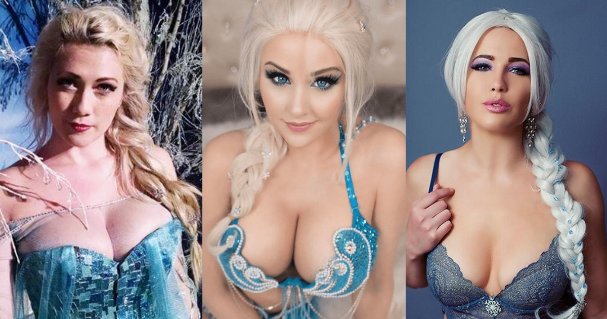 42 Hottest Elsa Boobs Pictures Are A Perfect Fit To Make Her A Hottie Hit