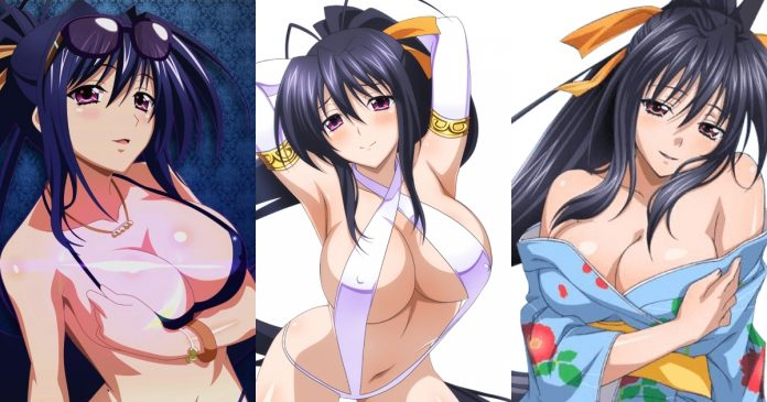 61 Hottest Akeno Himejima Boobs Pictures Show Off Her Perfect Set Of Racks