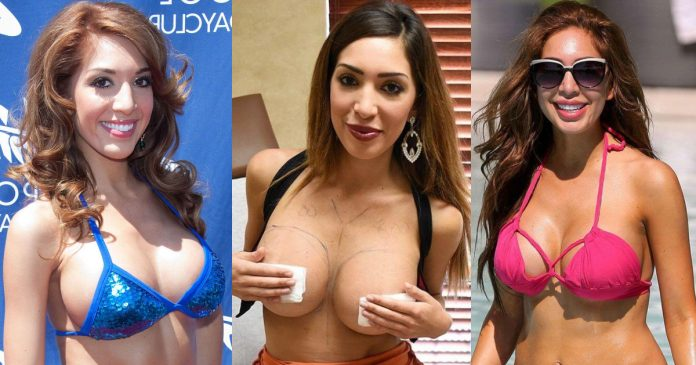 61 Hottest Farrah Abraham Boobs Pictures Expose Her Perfect Cleavage