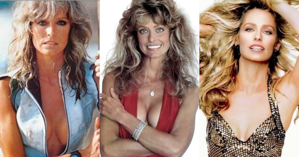 61 Hottest Farrah Fawcett Boobs Pictures Expose Her Perfect Cleavage