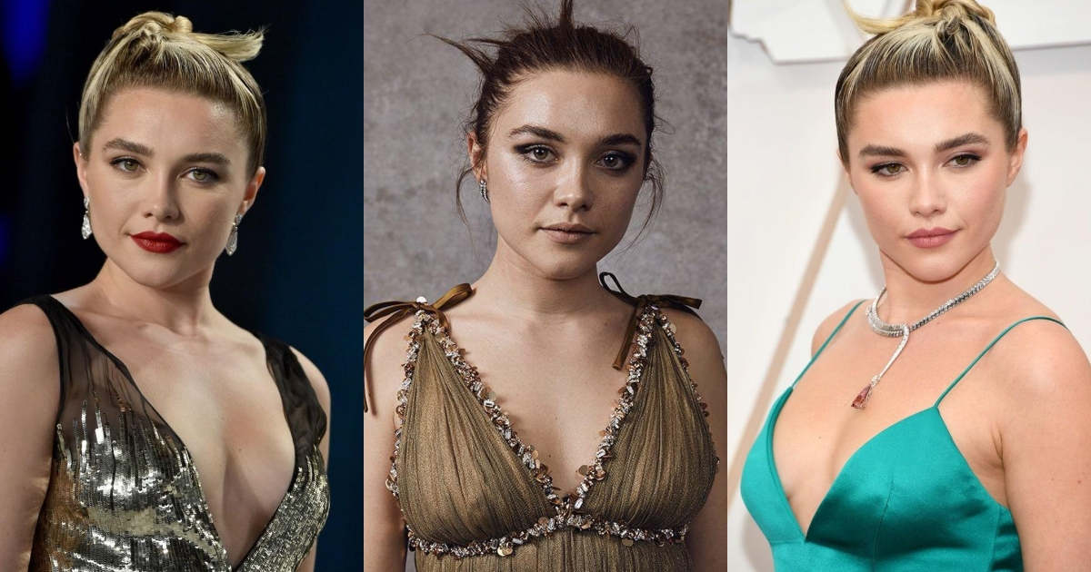 61 Hottest Florence Pugh Boobs Pictures Expose Her Perfect Cleavage