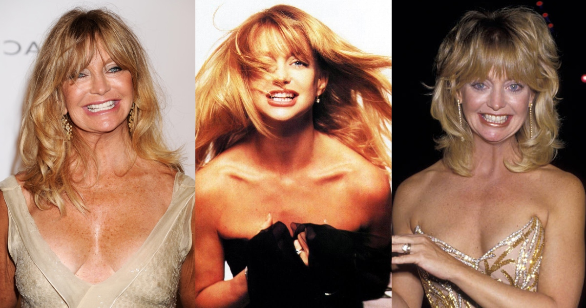 61 Hottest Goldie Hawn Boobs Pictures Expose Her Perfect Cleavage