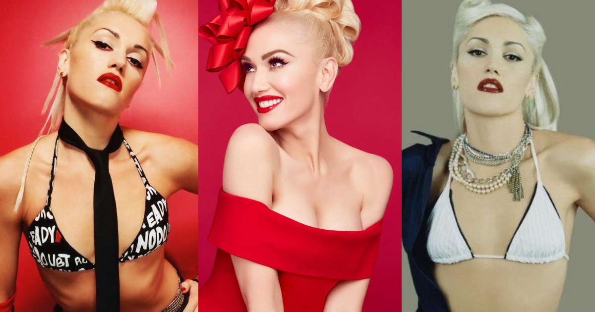 61 Hottest Gwen Stefani Boobs Pictures Expose Her Perfect Cleavage