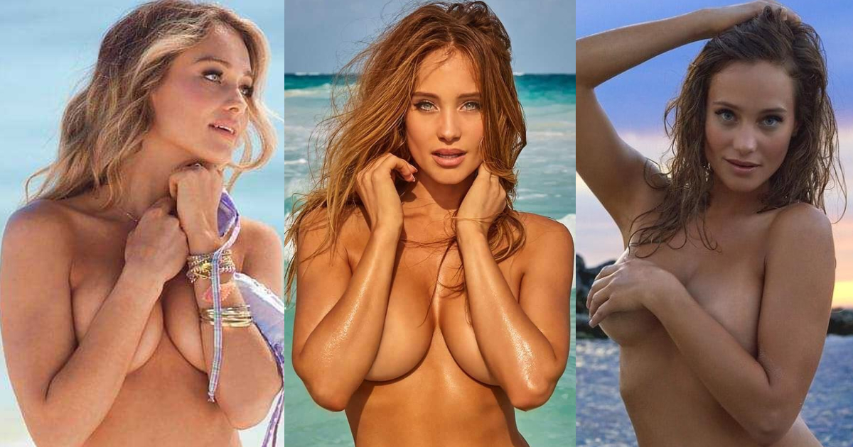 61 Hottest Hannah Davis Boobs Pictures Expose Her Perfect Cleavage