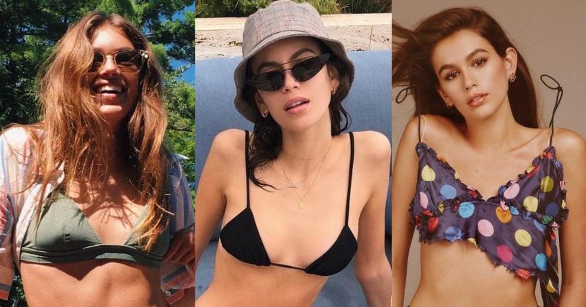 61 Hottest Kaia Jordan Gerber Boobs Pictures Show Off Her Perfect Set Of Racks