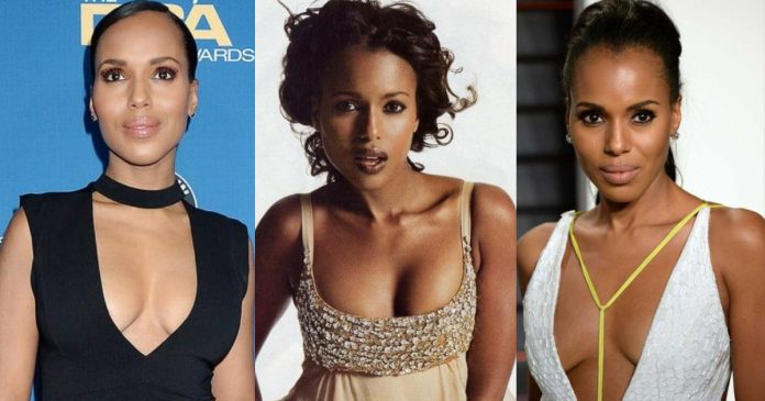 61 Hottest Kerry Washington Boobs Pictures That Look Flaunting In A Bikini