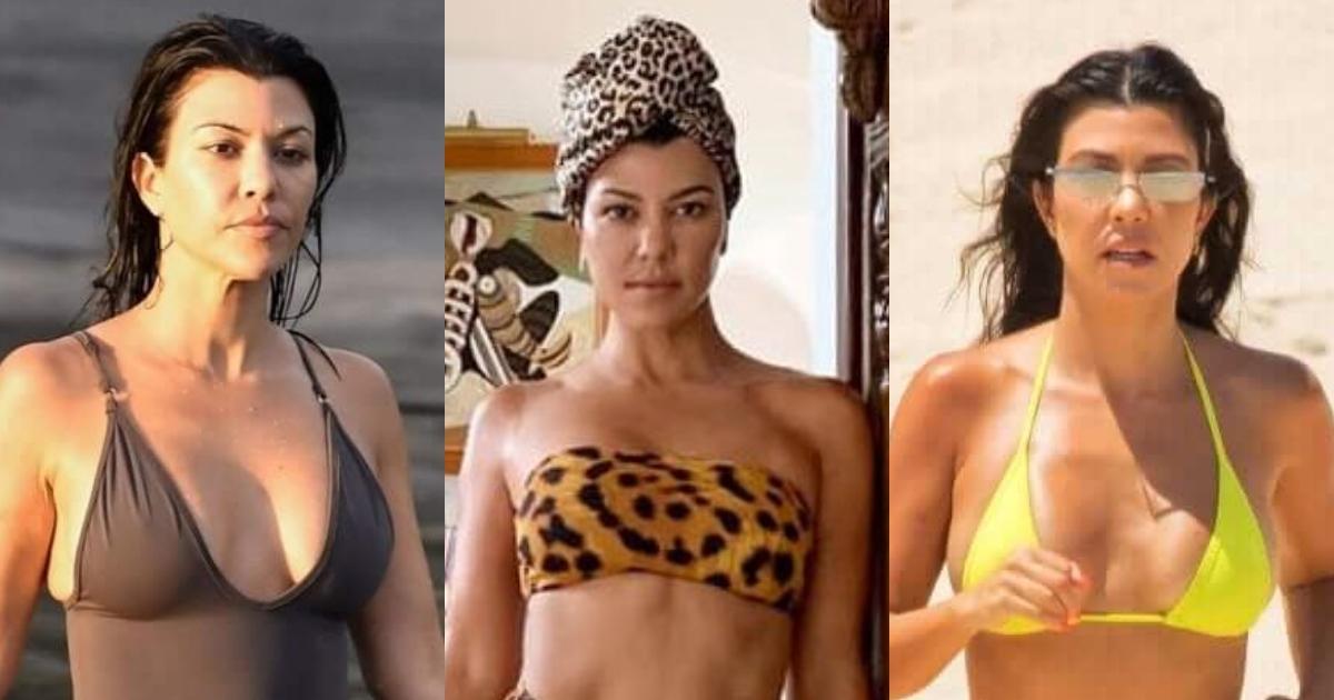 61 Hottest Kourtney Kardashian Boobs Pictures That Are Ravishingly Revealing