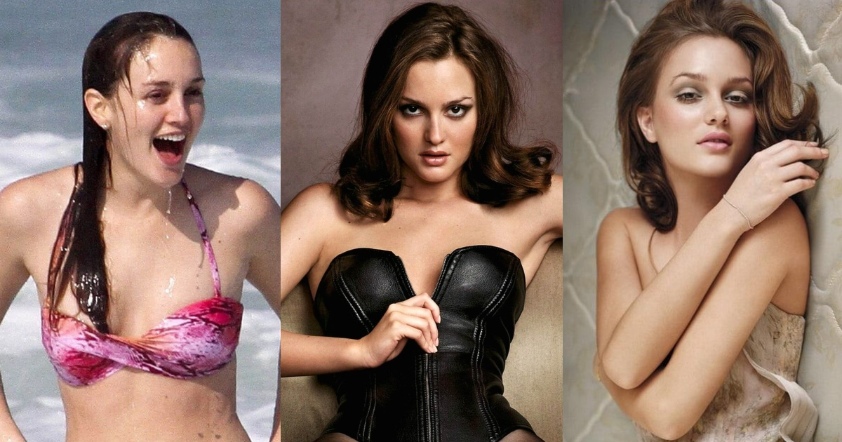 61 Hottest Leighton Meester Boobs Pictures Show Off Her Perfect Set Of Racks