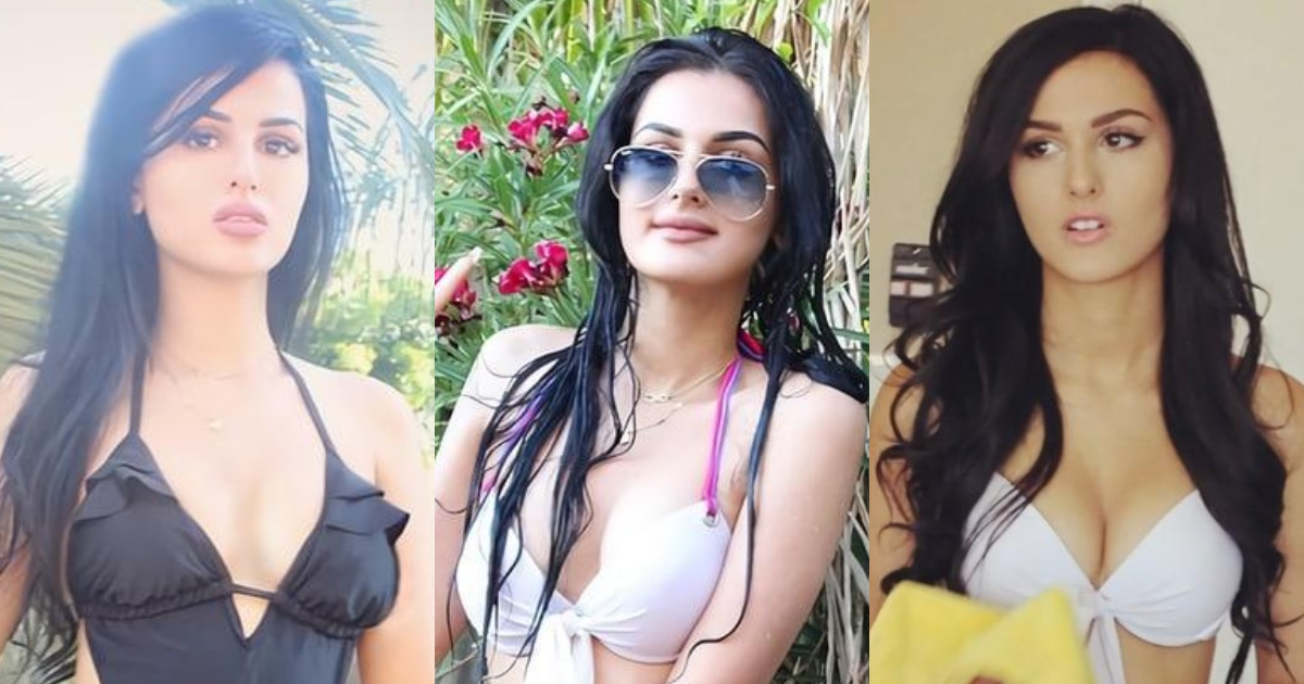 61 Hottest SSSniperWolf Boobs Pictures That Look Flaunting In A Bikini