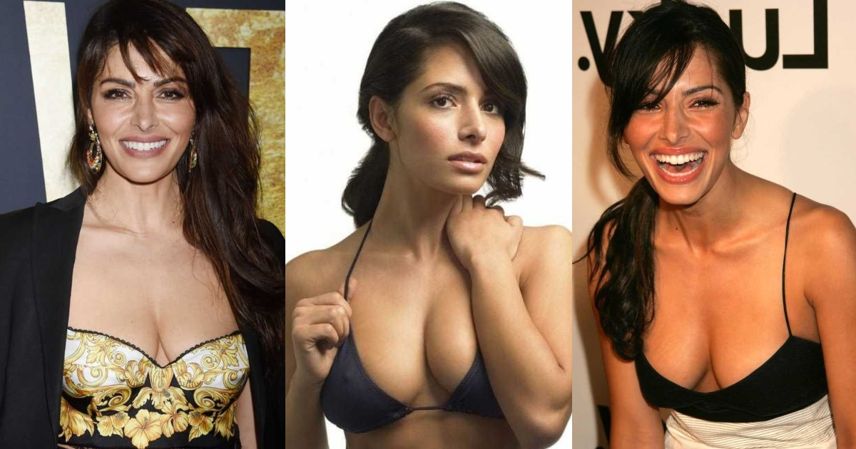 61 Hottest Sarah Shahi Boobs Pictures Are Arousing And Appealing