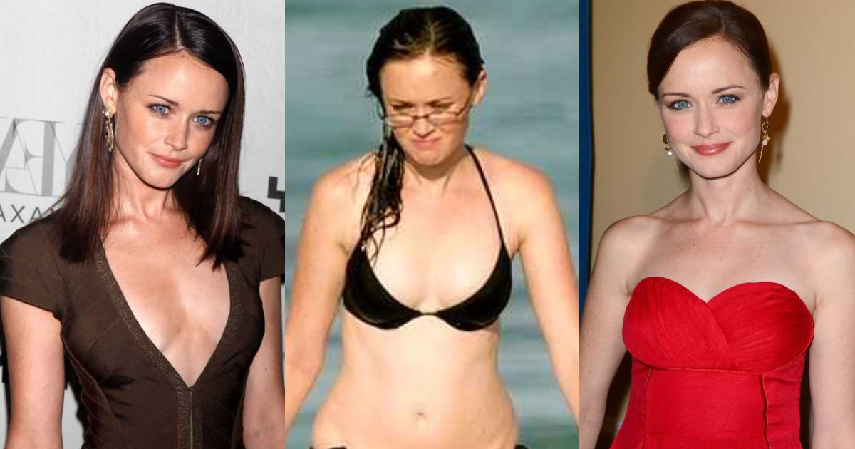 61 Sexiest Alexis Bledel Boobs Pictures Will Make You Feel Thirsty For Her Melons