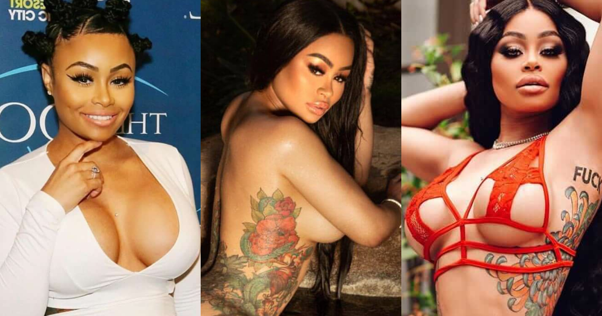 61 Sexiest Blac Chyna Boobs Pictures Show Off A Different Appearance In Each Attire