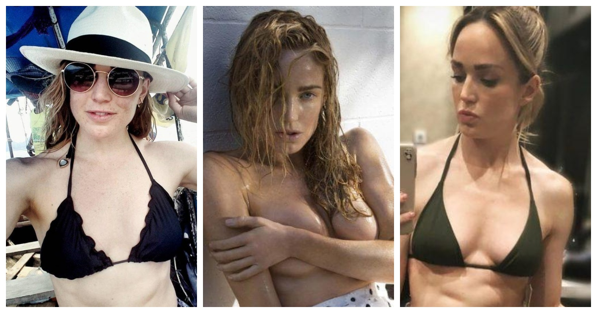 61 Sexiest Caity Lotz Boobs Pictures Will Have You Staring At Them All Day Long
