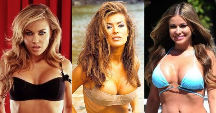 61 Sexiest Carmen Electra Boobs Pictures Will Make You Feel Thirsty For Her Melons