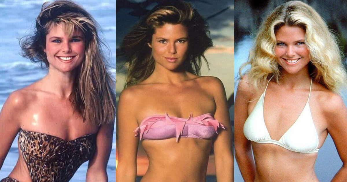 61 Sexiest Christie Brinkley Boobs Pictures Are Sexually Raunchy