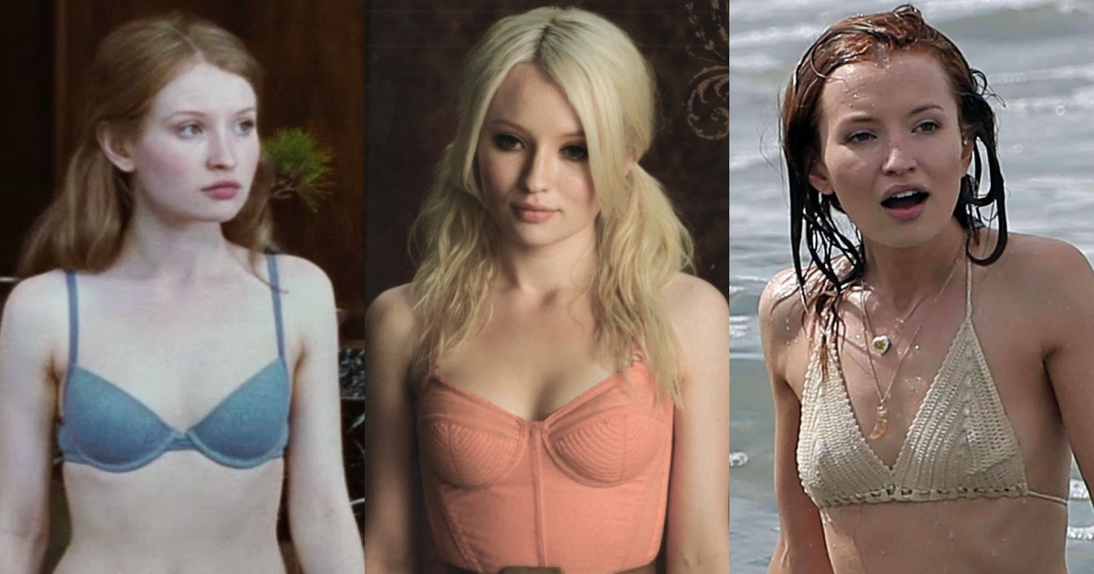 61 Sexiest Emily Browning Boobs Pictures That Compliment Her Neck Nape