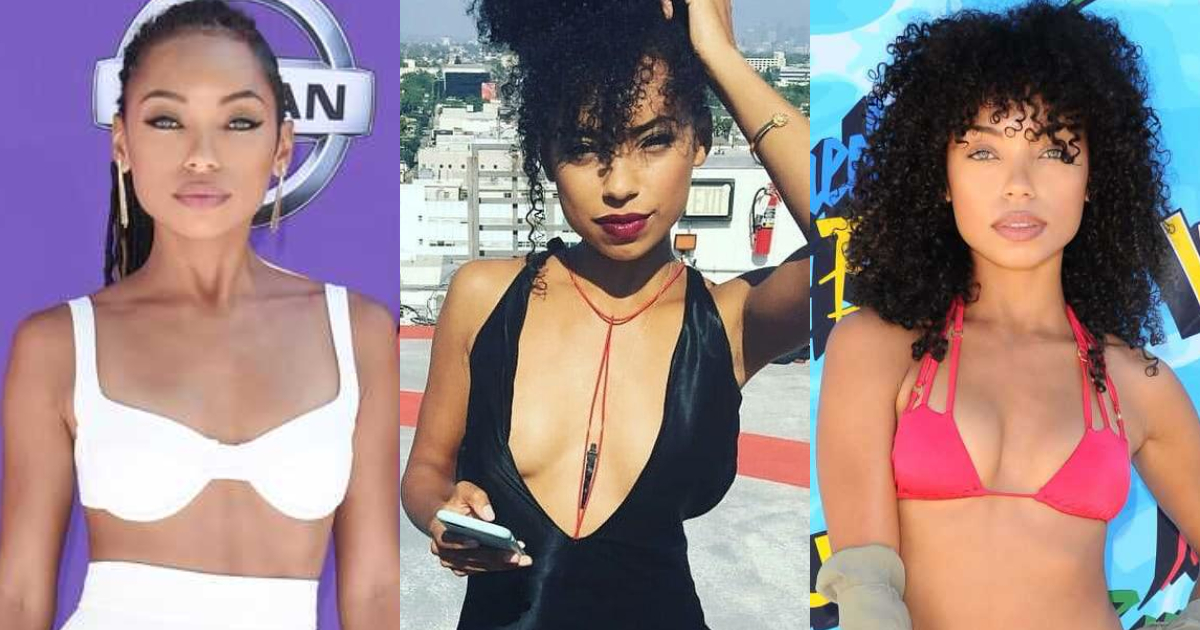 61 Sexiest Logan Browning Boobs Pictures Are Just The Right Size To Look And Enjoy