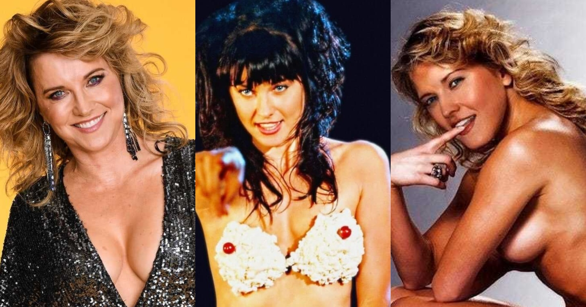 61 Sexiest Lucy Lawless Boobs Pictures Are Just The Right Size To Look And Enjoy