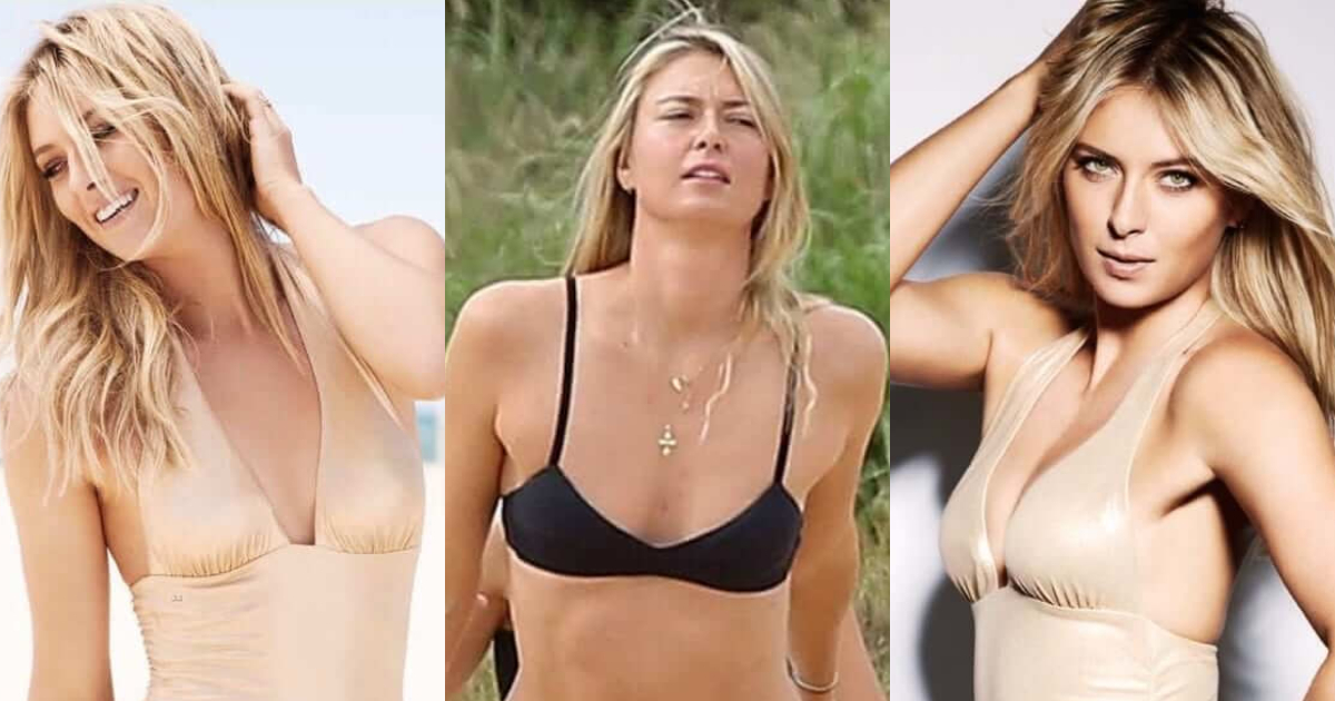 61 Sexiest Maria Sharapova Boobs Pictures Will Tempt You To Bury Your Head In-between