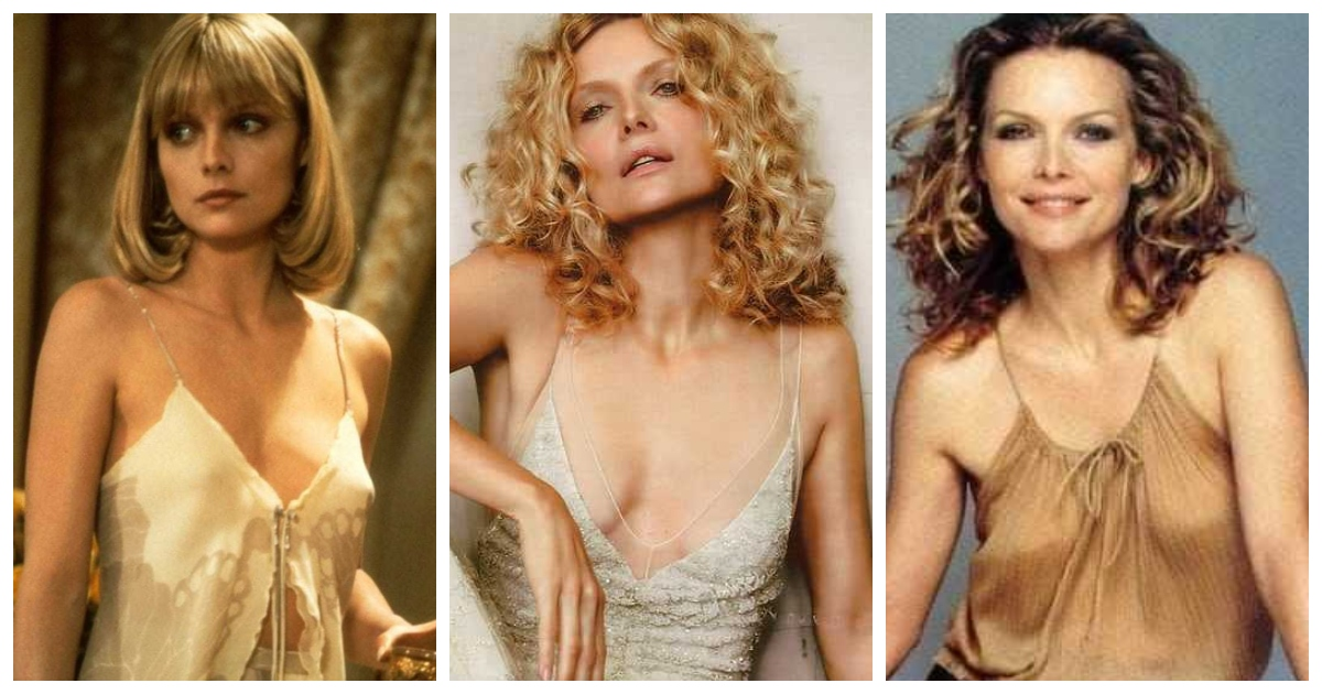 61 Sexiest Michelle Pfeiffer Boobs Pictures Will Tempt You To Bury Your Head In-between