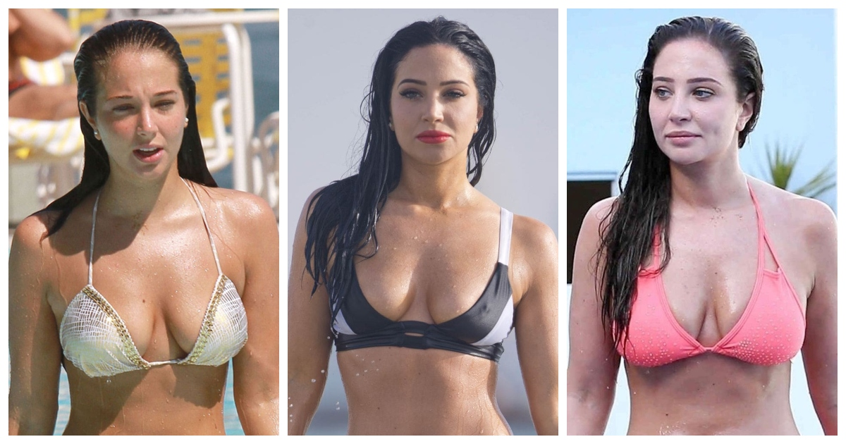 61 Sexiest Tulisa contostavlos Boobs Pictures Will Have You Staring At Them All Day Long