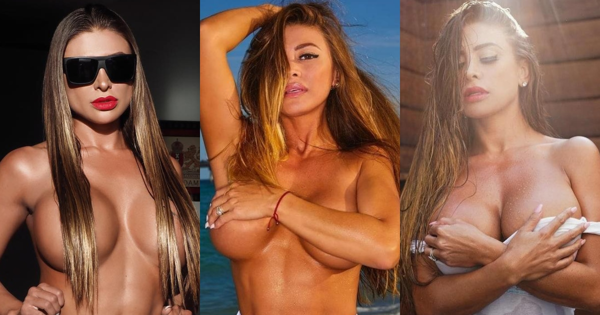 61 Sexiest francia james Boobs Pictures Are Sexually Raunchy