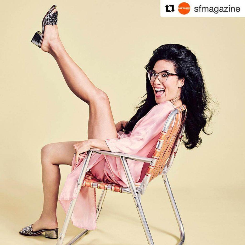 Ali Wong sexy legs pics