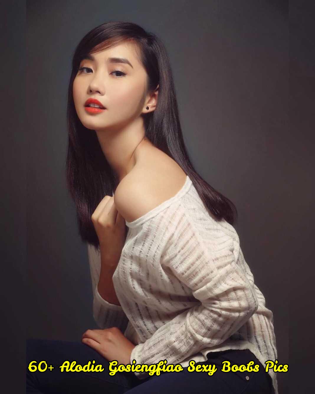 Alodia Gosiengfiao sexy boobs pics