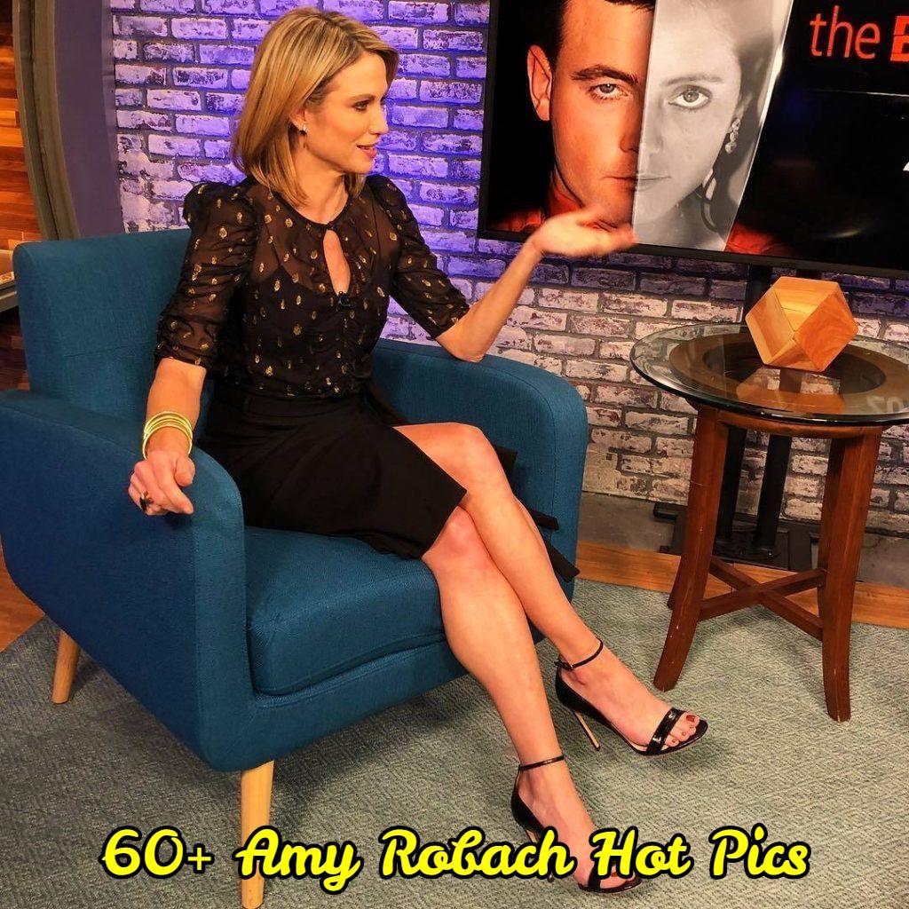 Amy Robach hot feet pics