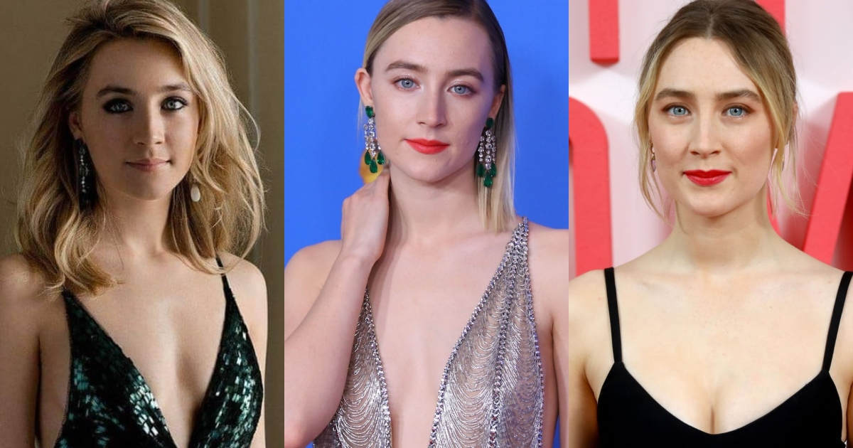 61 Sexiest Saoirse Ronan Boobs Pictures That Compliment Her Neck Nape