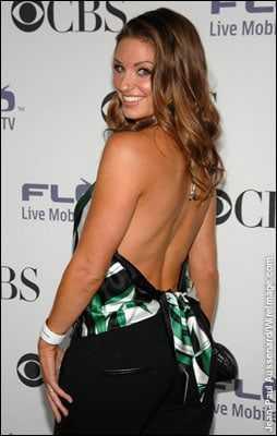 Bianca Kajlich sexy back pics