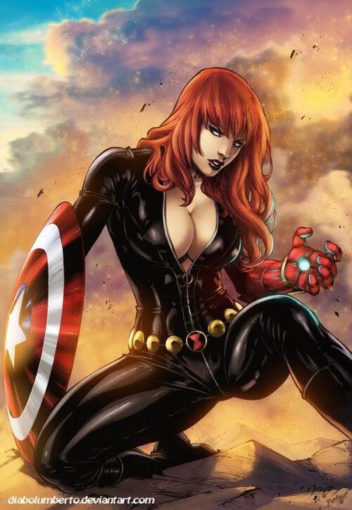 Black Widow hot look pics (2)