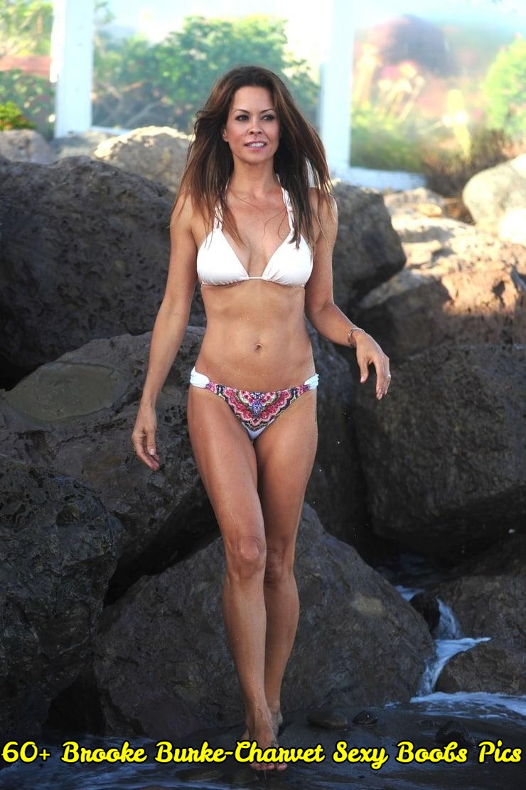 Brooke Burke-Charvet sexy boobs pics