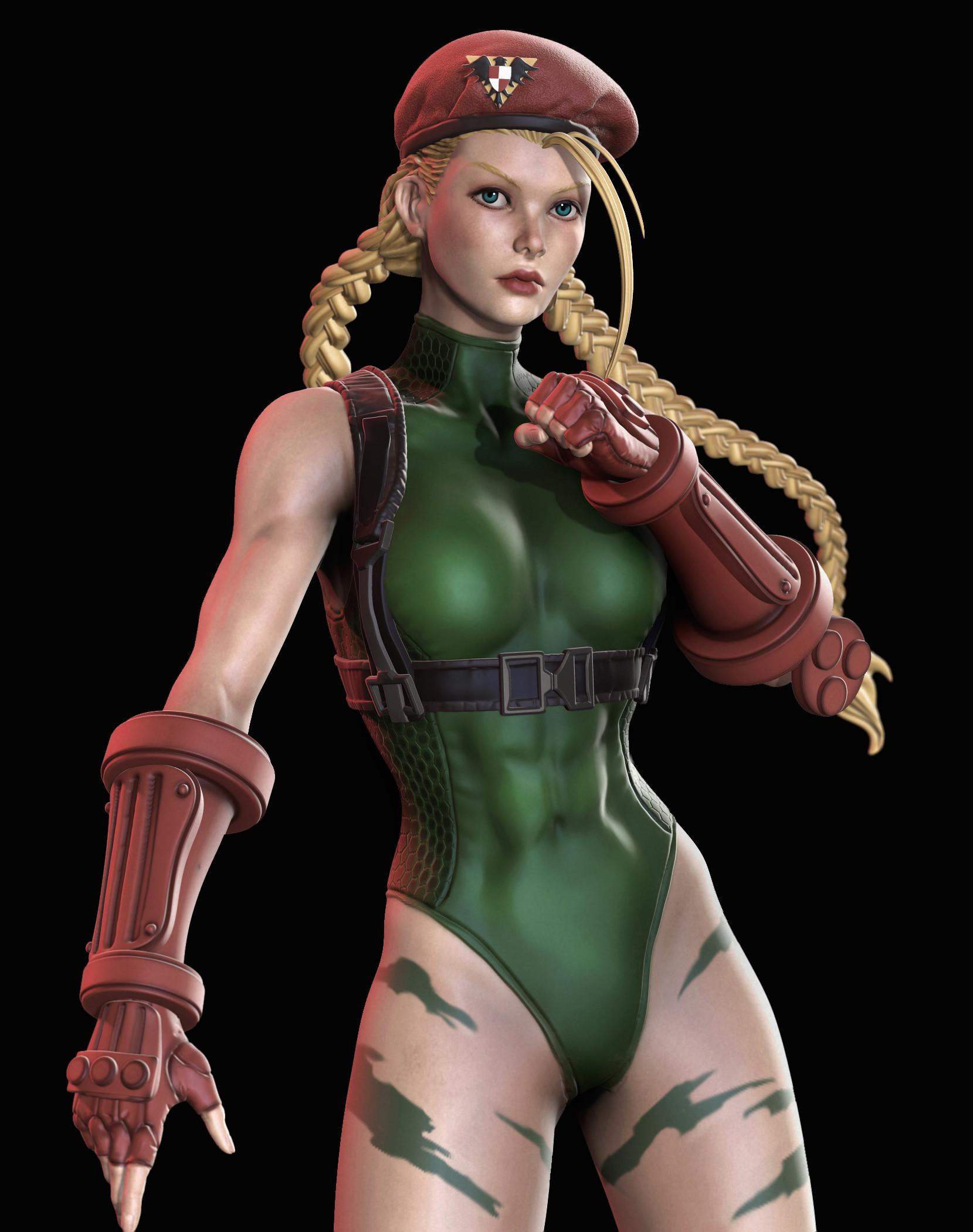 Cammy cleavages pics