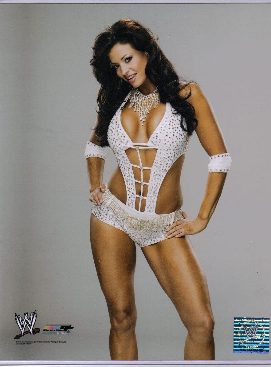 Candice Michelle bikini pics