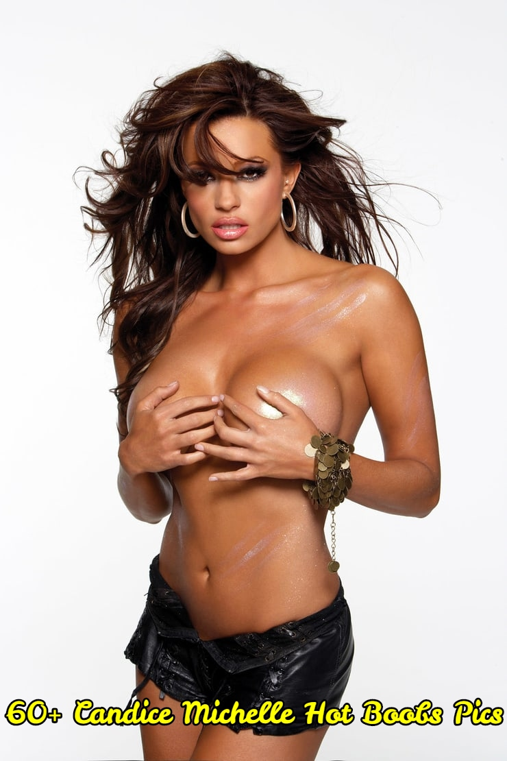Candice Michelle topless pics