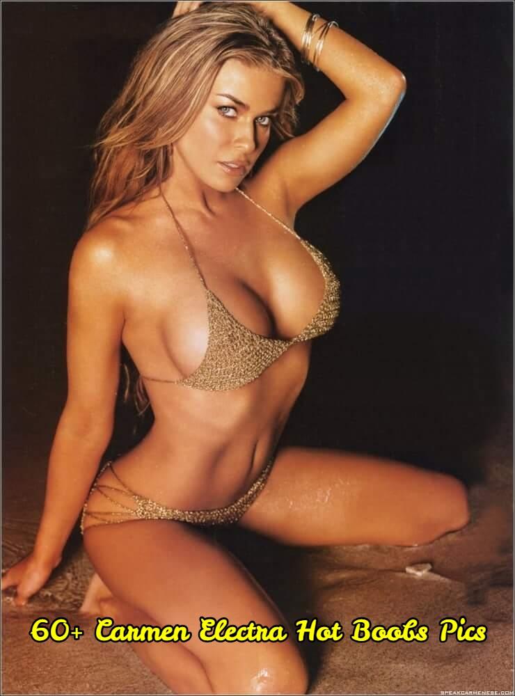 Carmen Electra hot boobs pics